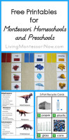 Free Printables for Montessori Homeschools and Preschools