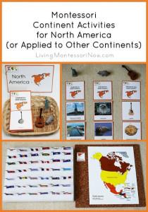 Montessori Continent Activities for North America
