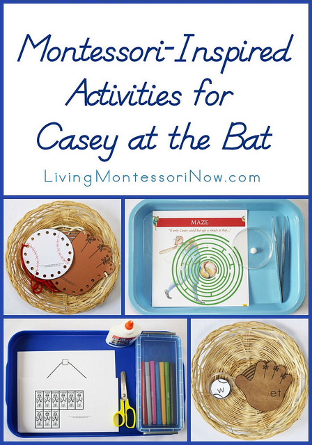 Montessori-Inspired Activities for Casey at the Bat