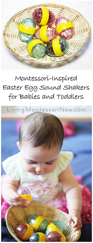 Montessori-Inspired Easter Egg Sound Shakers for Babies and Toddlers