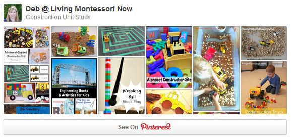 Construction Unit Study Pinterest Board