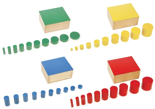 Knobless Cylinders from Alison's Montessori
