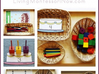 Montessori-Inspired Age and Birthday Activities