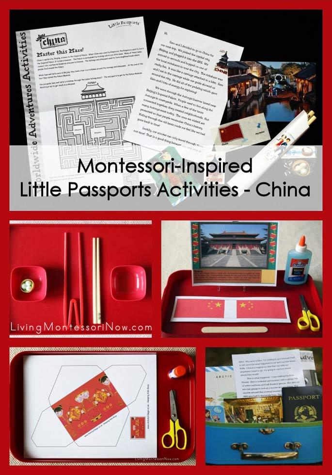Montessori-Inspired Little Passports Activities – China