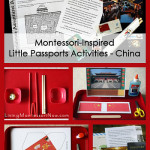 Montessori-Inspired Little Passports Activities – China