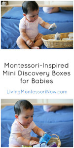 Montessori-Inspired Mini Discovery Boxes for Babies