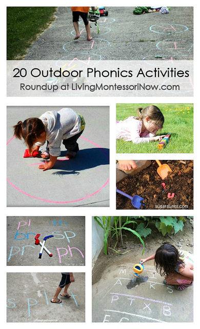 20 Outdoor Phonics Activities