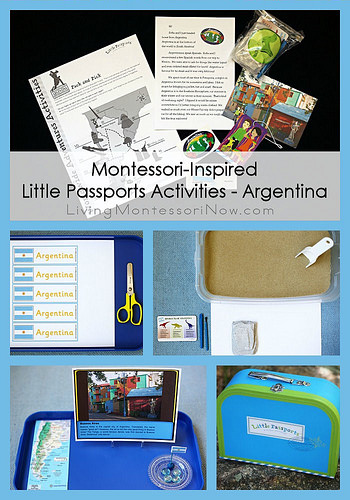 Montessori-Inspired Little Passports Activities - Argentina