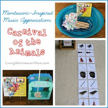Montessori-Inspired Music Appreciation - Carnival of the Animals