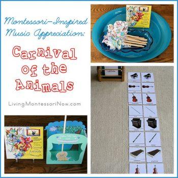 Montessori-Inspired Music Appreciation - Carnival of the Animals