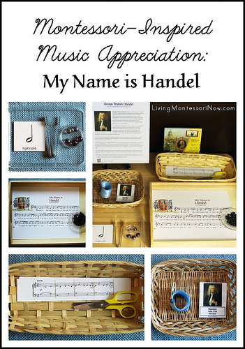 Montessori Monday – Montessori-Inspired Music Appreciation: My Name is Handel