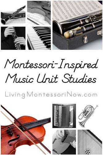 Montessori-Inspired Music Unit Studies