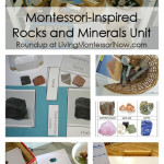 Montessori Monday – Montessori-Inspired Rocks and Minerals Unit
