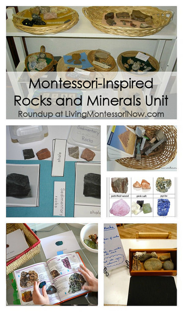 Montessori-Inspired Rocks and Minerals Unit
