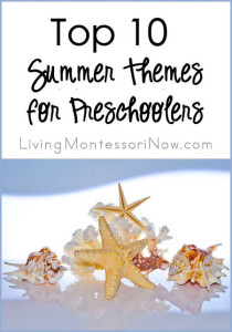 Top 10 Summer Themes for Preschoolers