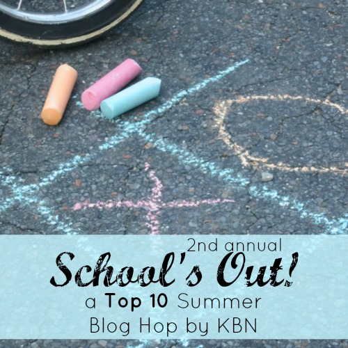 School's Out! A Top 10 Summer Blog Hop