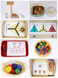 Ideas of Montessori-Inspired Spielgaben Activities