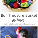 Ball Treasure Basket for Babies