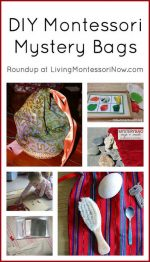 Montessori Monday – DIY Montessori Mystery Bags