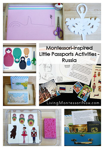Montessori-Inspired Little Passports Activities - Russia