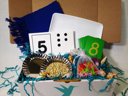 Shells and Starfish Box from Montessori by Mom