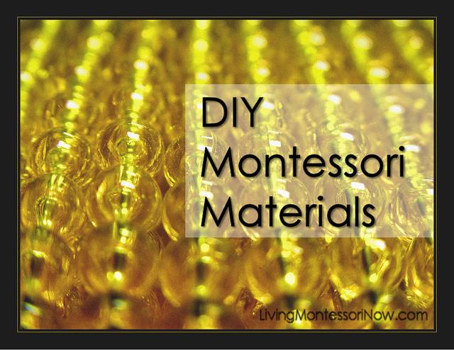 DIY Montessori Materials