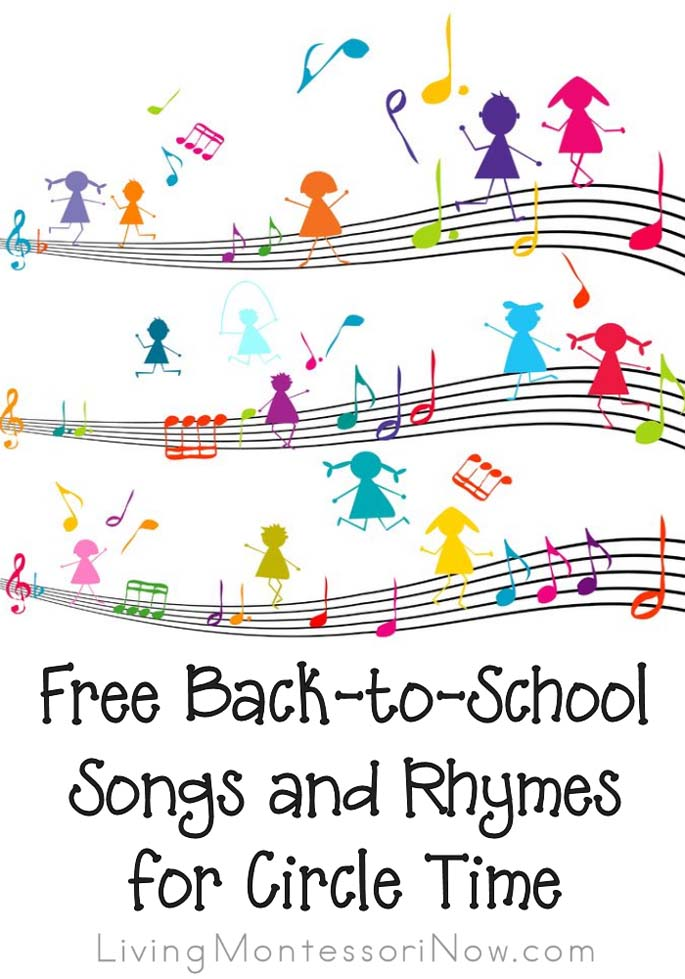Free back to school songs and rhymes for circle time m4hsunfo