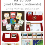 Montessori Activities for Europe (and Other Continents) + Giveaway – 3 $50 Trillium Montessori 7 Continents Bundles!