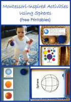 Montessori-Inspired Activities Using Spheres