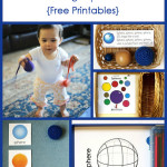 Montessori Monday – Montessori-Inspired Activities Using Spheres {Free Printables}