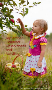 September 2014 Calendar Observances and Activities