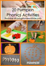 20 Pumpkin Phonics Activities