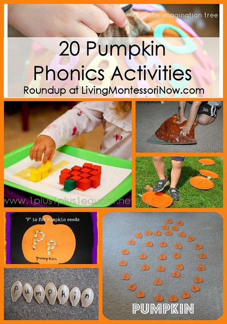 20 Pumpkin Phonics Activities