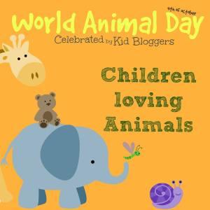 Children Loving Animals Blog Hop