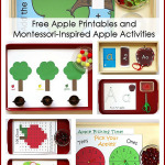 Montessori Monday – Free Apple Printables and Montessori-Inspired Apple Activities