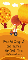 Free Fall Songs and Rhymes for Circle Time