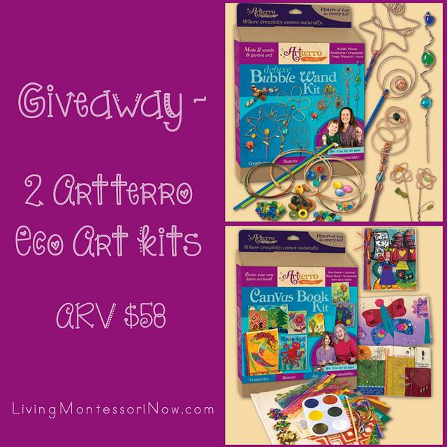 Giveaway - 2 Artterro Eco Art Kits