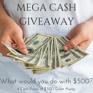 KBN Mega Cash Giveaway - 4 cash prizes of $500!