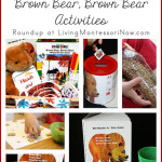 Montessori Monday – Montessori-Inspired Brown Bear, Brown Bear Activities