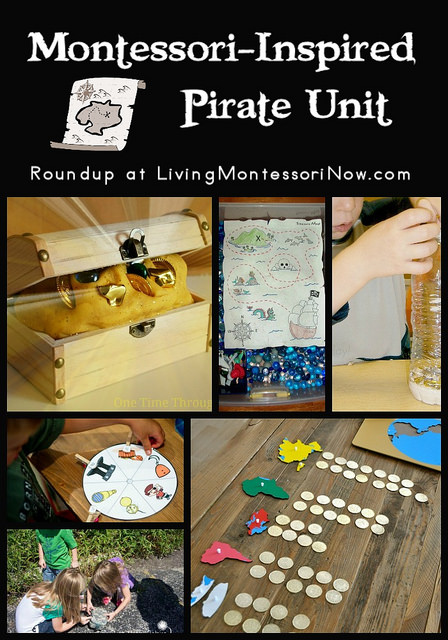 Montessori-Inspired Pirate Unit