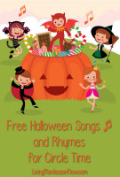 Free Halloween Songs and Rhymes for Circle Time