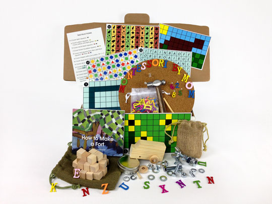 Building and Blocks Toolbox from Montessori By Mom