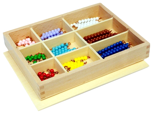 Decanomial Bead Box from Alison's Montessori