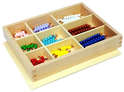 Decanomial Bead Box from Alison's Montessori