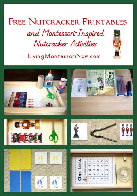 photo regarding Nutcracker Worksheets Printable titled No cost Nutcracker Printables and Montessori-Impressed
