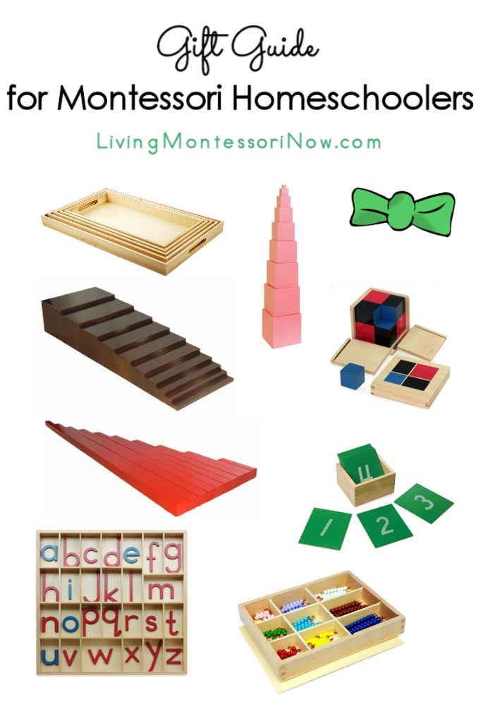 Gift Guide for Montessori Homeschoolers