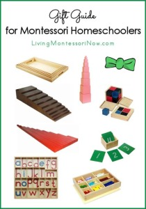 Gift Guide for Montessori Homeschoolers