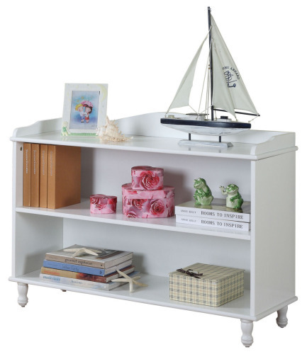 """King's Brand Two-Tier 30"""" Bookcase"""