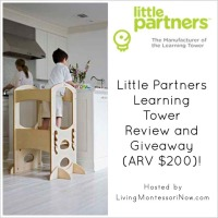 Little Partners Learning Tower Review and Giveaway