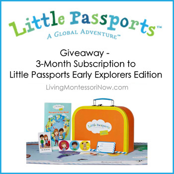 Little Passports Early Explorers Giveaway